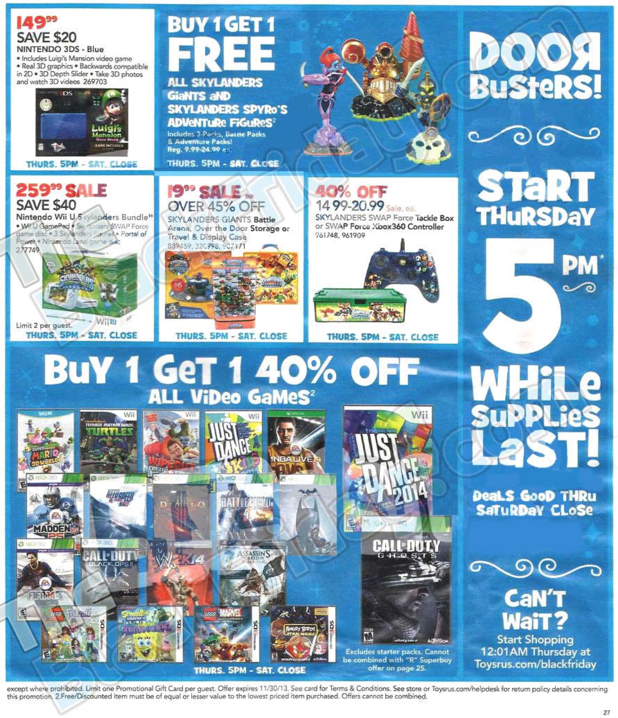 Toys R Us Black Friday ad 2013 26