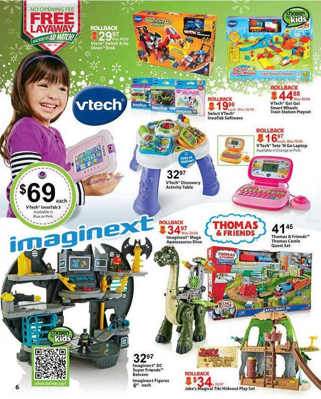 Walmart Christmas Toys Ad – Black Friday Ads