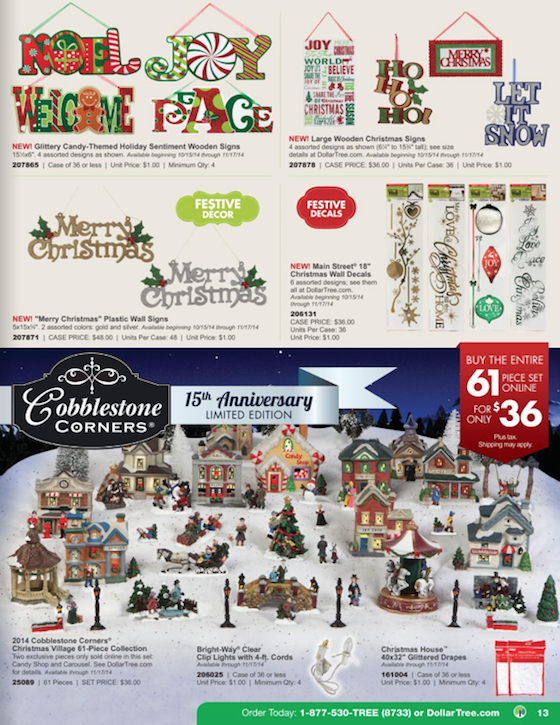 Dollar Tree Black Friday ad 13