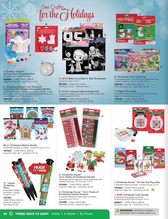 Dollar Tree Black Friday ad 22