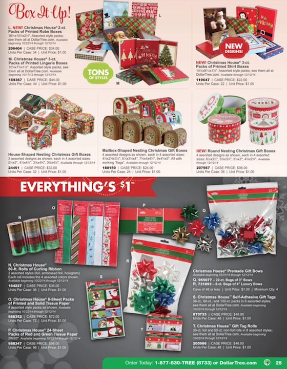 Dollar Tree Black Friday ad 25