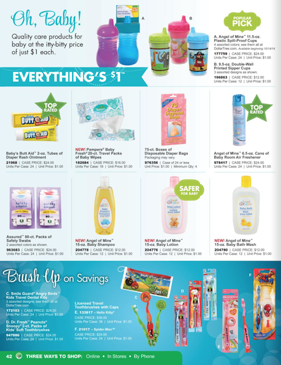 Dollar Tree Black Friday ad 42