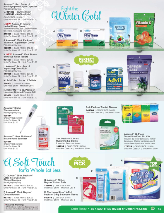 Dollar Tree Black Friday ad 43