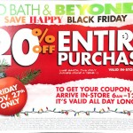 Bed Bath & Beyond Black Friday Ad