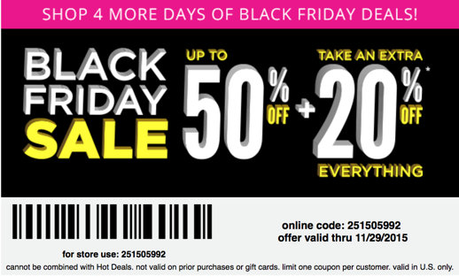 Payless Black Friday Ad