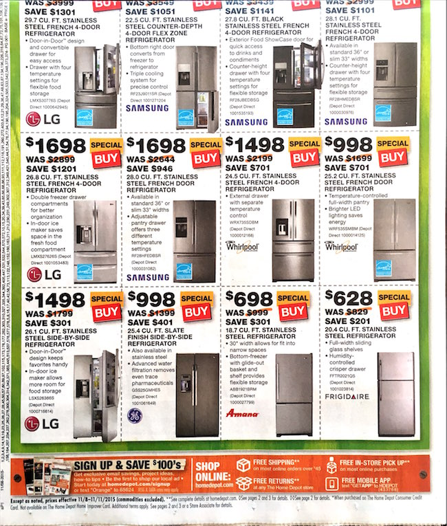 Home Depot Black Friday ad 00002