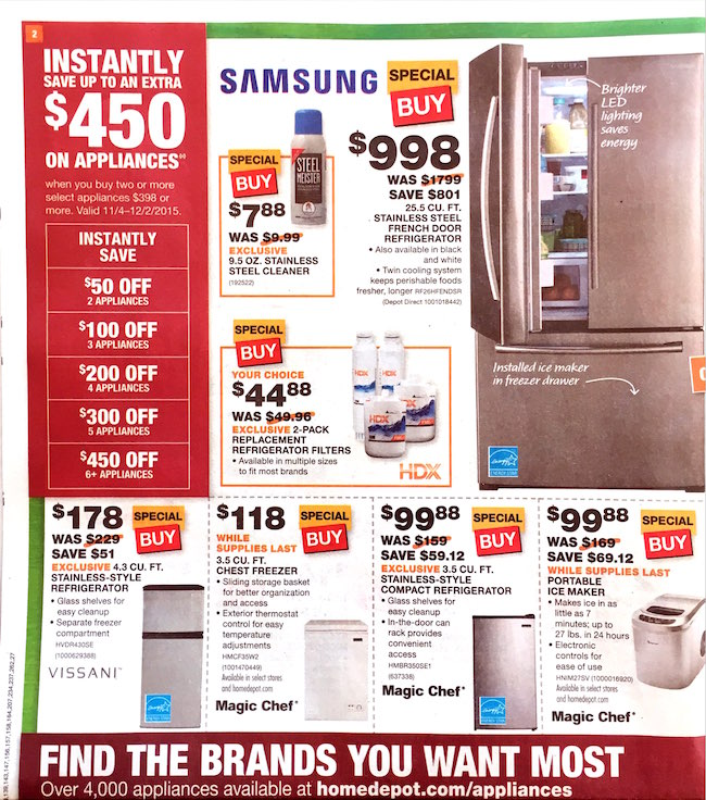 Home Depot Black Friday ad 00003