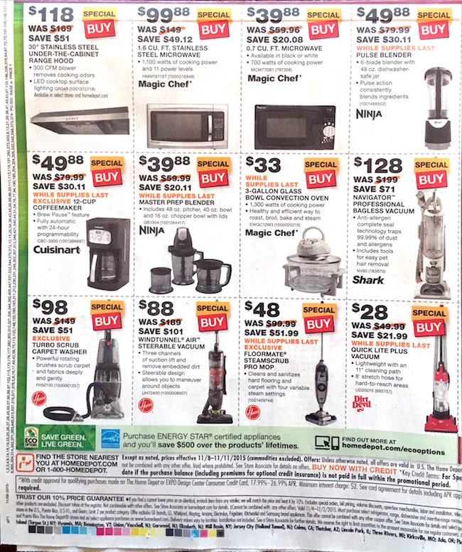 Home Depot Black Friday ad 00004