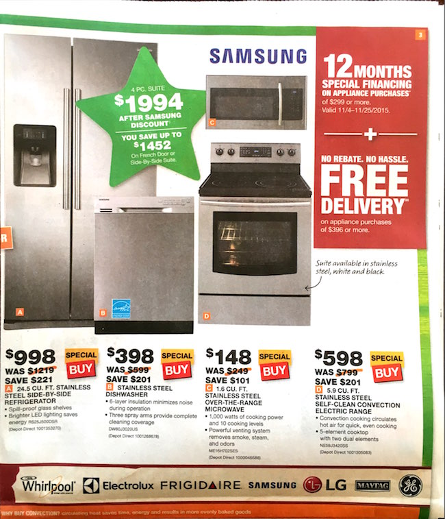 Home Depot Black Friday ad 00005