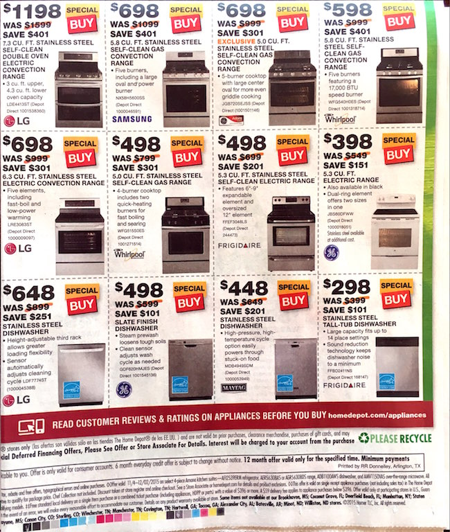 Home Depot Black Friday ad 00006