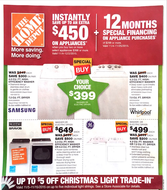 Home Depot Black Friday ad 00007
