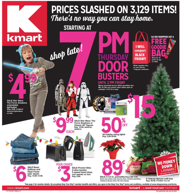Kmart Black Friday ad 2015
