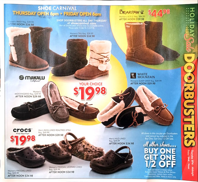 Shoe Carnival Black Friday Ad00003