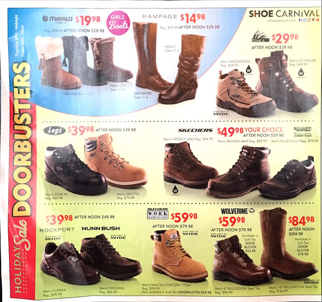 Shoe Carnival Black Friday Ad00004