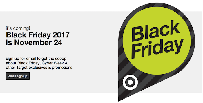 Target Black Friday Ad for this year