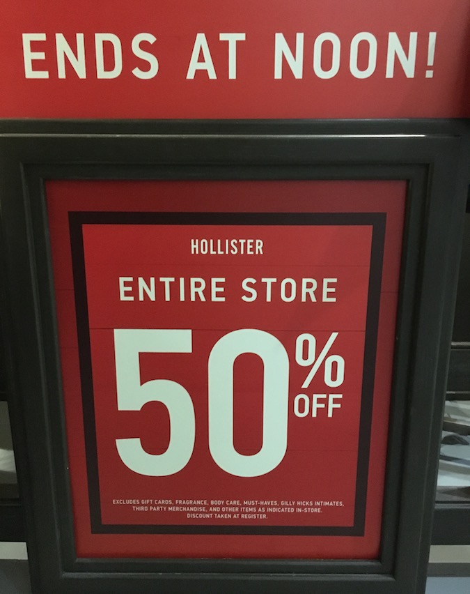 Hollister Black Friday Deals